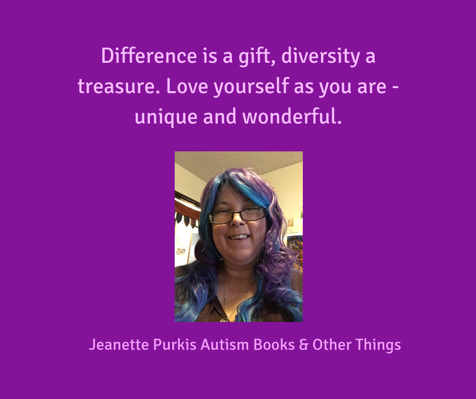 Difference is a gift, diversity a treasure. Love yourself as you are - different, unique and wonderful